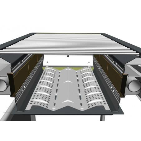 REFLECTEUR DE CHALEUR POUR C-LINE 2400 / 3 SERIES RBS et 4 SERIES RBS CAMPINGAZ 81008