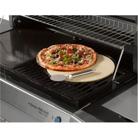KIT PIZZA CULINARY MODULAR (Plaque à pizza en céramique + plaque en acier inoxydable + roulette à pizza) - CAMPINGAZ