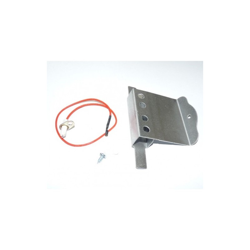ELECTRODE + SUPPORT (EMBOUT ROND) POUR BARBECUE ADELAIDE CAMPINGAZ 74822