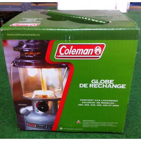 VERRE DE REMPLACEMENT POUR LANTERNES COLEMAN DIAMETRE 125 201193