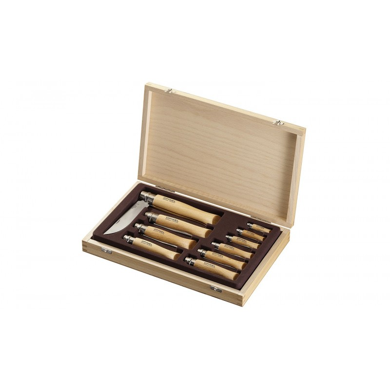 OPINEL - COFFRET COLLECTION TRADITION INOX