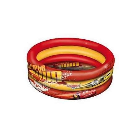 PISCINE GONFLABLE 100CM CARS - ROUGE