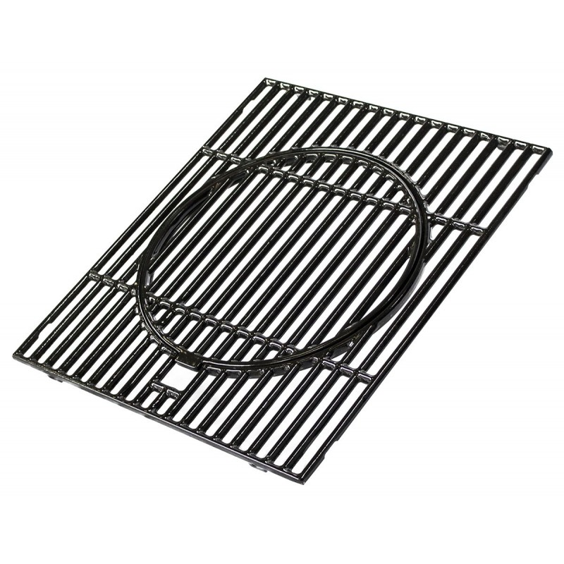 GRILLE EN FONTE DOUBLE EMAILLAGE CULINARY MODULAR POUR BARBECUES CAMPINGAZ (depuis 2018) 5010004859
