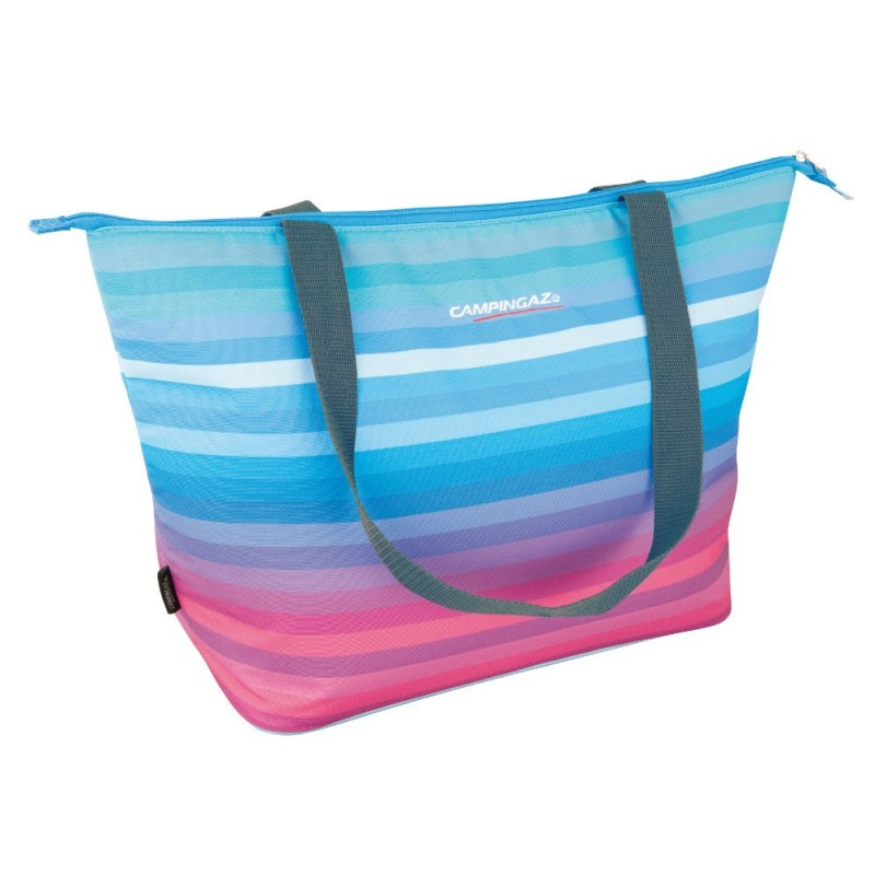"GLACIERE SOUPLE ""SHOPPING"" ISOTHERME 15 LITRES ARTIC RAINBOW"