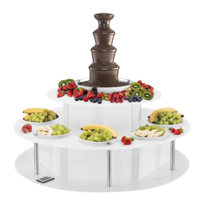 LOCATION FONTAINE A CHOCOLAT AVEC TABLE SUPPORT