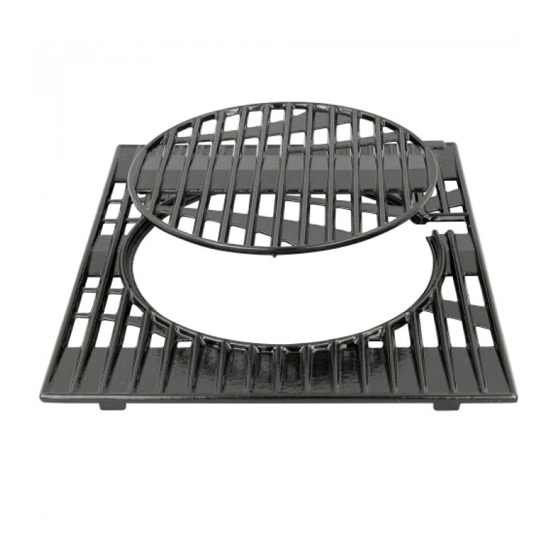 GRILLE EN FONTE DOUBLE EMAILLAGE BARBECUES 3 SERIES / 4 SERIES / CLASS 3 / CLASS 4 CAMPINGAZ 5010001656