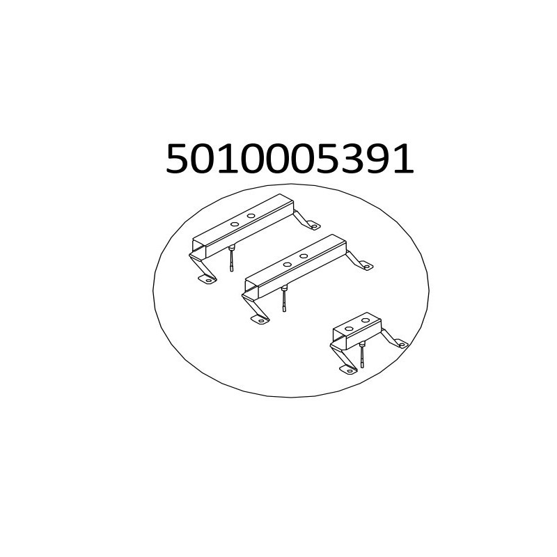 KIT D'ELECTRODES + SUPPORT POUR BARBECUE MASTER 3 CAMPINGAZ 5010005391
