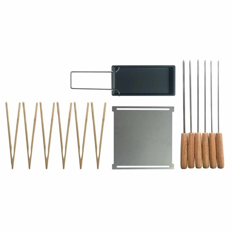 """ACCESSOIRES POUR BARBECUE NOMADE """"BARBECUE PARTY"""" COOKUT"""